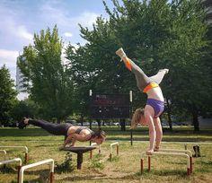 #streetworkout #streetworkoutpark #handstand  #elbowlever #nature