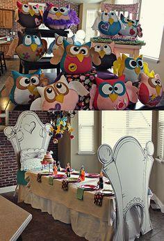 Night Owl Slumber Party Theme: Adorable!!