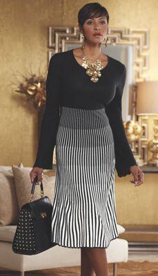 d4b5d7d5b2 Angel Ombre Striped Sweater Dress. Ombre SweaterChurch ...
