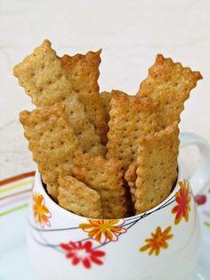 Cheddar and Paprika Cracker