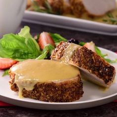 Pork Loin in Mustard Sauce - Cenas especiales - Top Recipes, Snack Recipes, Snacks, Healthy Fats, Healthy Choices, Extreme Diet, Pork Loin, Vegetable Dishes, Fruits And Vegetables