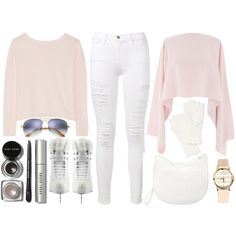 :: ice skating all day long :: by andreearucsandraedu on Polyvore featuring Banjo & Matilda, Henri Bendel, Frame, Forever 21, Timing, Echo, Ray-Ban, Bobbi Brown Cosmetics, Artistique and winterwhite