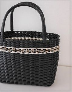 Wicker Baskets, Rattan, Straw Bag, Crafts, Bags, Craft Bags, Paper Crafting, Totes, Tejidos