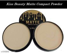 Compact Kiss Beauty Matte 2 in 1 Compact Powder Product Name: Kiss Beauty Matte 2 in 1 Compact Powder Multipack: 1 Product Type: Compact Powder Quantiy : 2 gm Country of Origin: India Sizes Available: Free Size   Catalog Rating: ★4.2 (2082)  Catalog Name: Make Up Proffesional Finishing Compact CatalogID_753155 C173-SC1994 Code: 651-5107255-522