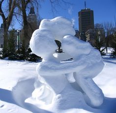 Snow Sculptures at the Quebec Winter Carnival-Friday Feature ...