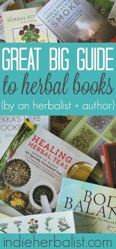 Reading suggestions for the herbal bookworm!