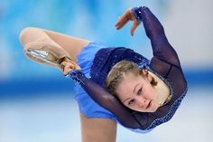 Yulia Lipnitskaya's best leg moments from the Sochi Olympics.
