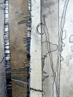 Lisa Grey - mixed media study by juliet