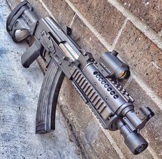 custom AK47, guns, weapons, self defense, protection, 2nd amendment, America, firearms, munitions #guns #weapons