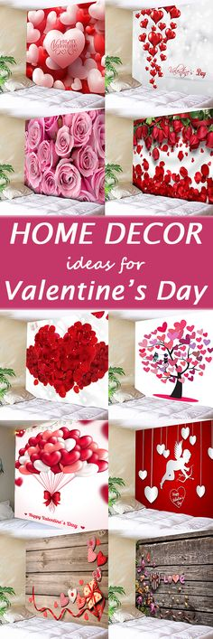 Home decor ideas for Valentine's Day,find the latest wall tapestries at Dresslily.com.FREE SHIPPING WORLDWIDE!