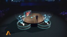 AR Stage presentation designed for CEO of VIACOM It featured several levels of interactivity between CEO and digital characters and environment. Interactive Design, Amazon Echo, Opening Ceremony, Presentation Design, Stage, Engineering, Environment, Characters, Digital
