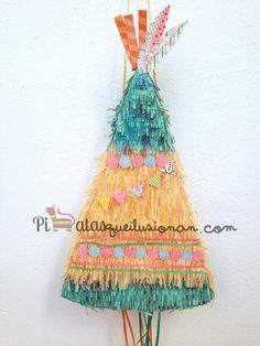Piñatas que Ilusionan: Piñata Tienda de Indios Tribal Theme, 1st Birthday Party Themes, Indian Party, Ideas Para Fiestas, Woodland Party, Baby Party, Baby Shower, Party Time, Crafts