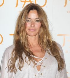 Kelly Bensimon rocks beachy waves