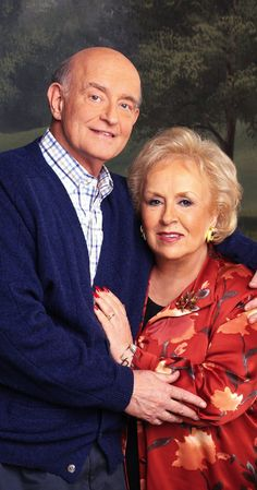 Doris Roberts and peter boyle