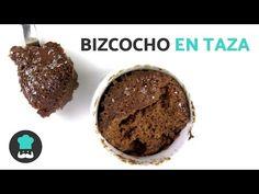 Receta de Bizcocho de chocolate a la taza en microondas