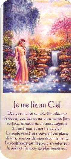 je me lie au Ciel texte - Best Pinner Mario, Positive Attitude, Positive Thoughts, Miracle Morning, Spiritus, Morning Inspiration, Yoga Quotes, Oracle Cards, Osho