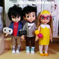 Big Hero 6 Disney Animators ooak dolls by Javicharmed.deviantart.com on @DeviantArt