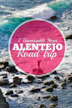 Portugal's Alentejo Road Trip: 7 Unmissable Stops On The Coastal And Fish Route. 1. ÉVORA 2. COMPORTA 3. PORTO COVO 4. SINES 5. VILA NOVA DE MILFONTES 6. PORTO DAS BARCAS 7. ROTA VICENTINA Foodies, photographers, wine lovers, beach bums.. Alentejo is all you need!