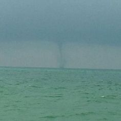 Water Spout off Shell Island 7-4