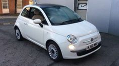 Used 2010 reg) White Fiat 500 Lounge (Start Stop) for sale on RAC Cars Fiat 500 White, My Dream Car, Dream Cars, Fiat 500 For Sale, Fiat 500 Lounge, Fiat Cars, Van Car, Car Goals, Cars