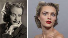 1940s Comparison #IrenevonMeyendorff #actress