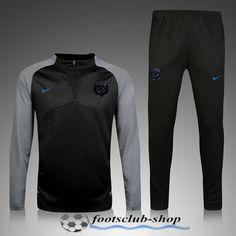 PSG Black with Grey Men Tracksuit Slim Fit Item Specifics Brand  Nike  Gender  Men s Adult Model Year  Material  Polyester Type of Brand Logo  626ec1ef9219