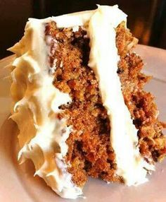 Canada's best carrot cake with cream cheese frosting  (Jenna says: this was…