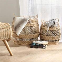 Desser - Rattan Furniture (@desserandco) • Instagram photos and videos Wicker Planter, Basket Planters, Natural Furniture, Rattan Furniture, Tidy Up, Household Items, Greenery, Interior Design, Boho Chic