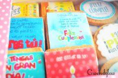¿Galletas o Tarjetas de cumpleaños