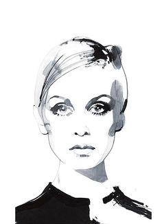 Fashion Illustrations | David Downton