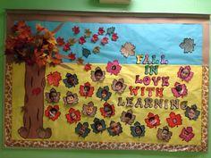 Fall bored at Miami Springs Baptist Preschool 2014