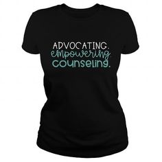 Cool Advocating Empowering Counseling T shirts