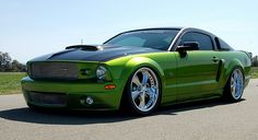 Monster Green 2008 Ford Mustang - Another Foose Original!