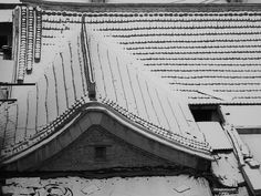 Chinese Roof @ Si Hui Dong, Beijing Beijing, My Photos, Louvre, Chinese, Snow, Travel, Viajes, Destinations, Traveling