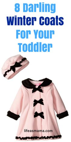 8 Darling Winter Coats For Your Toddler