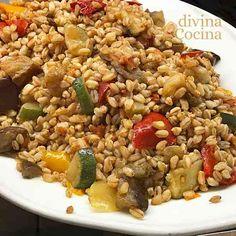 ensalada de trigo con verduras 1