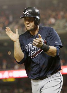 Chris Johnson Photo - Atlanta Braves v Washington Nationals
