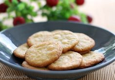 Cookies de Laranja com Chocolate Branco
