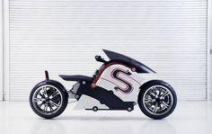 Low Riding Electric Motorcycle – Fubiz Media