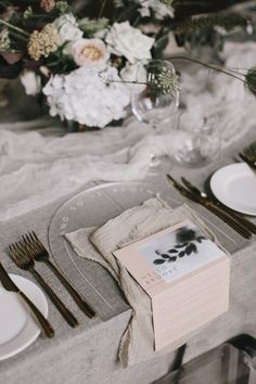 NOMAD STYLING // Another dreamy table setting by Shonel Bryant . seriously this girl can do no wrong! Melbourne couples looking for a style guru for your wedding she is your gal! Wedding Reception On A Budget, Wedding Dinner, Elegant Wedding, Beautiful Table Settings, Wedding Table Settings, Place Settings, Silk And Willow, Modern Wedding Inspiration, Wedding Decorations
