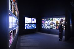 """For """"The Velvet Underground – New York Extravaganza"""" at the Paris Philarmonie, Matali Crasset designed an exhibition route that is a mix of visual and sound synergies."""