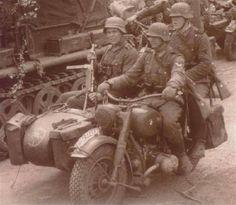Wehrmacht / BMW MOTORCYCLE