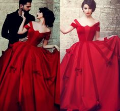 Charming Saudi Arabic Dubai Off Shoulder Red Evening Dresses Party Prom Dress Backless New Arrival Wedding Dresses Bridal Gown Floor Length Womens Clothing Uk Womens Dress From Lovely518, $141.37| Dhgate.Com