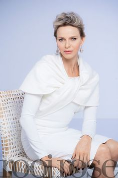 """graciemonaco: """" Princess Charlene of Monaco gave an interview for June 2018 edition of Rooi Rose (Red Roses) women's magazine and participated in the photo shoots. Princess Charlene will be on the cover of June 2018 edition of the magazine. Andrea Casiraghi, Charlotte Casiraghi, Grace Kelly, Patricia Kelly, Fürstin Charlene, Princesa Charlene, Charlene Of Monaco, Monaco Princess, Royal Princess"""