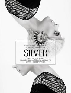 Silver volt café: by volt magazine design + layout мода граф Web Design, Book Design, Cover Design, Layout Design, Design Social, Editorial Layout, Editorial Design, Design Poster, Print Design