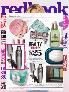 @REDBOOK Magazine highlighted their favorite beauty buys under $25 and featured our Big & Multiplied Volume Mascara!