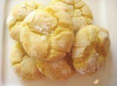 Lemon Cookies My lemon tree is loaded!!