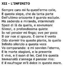 #poetry#Leopardi#fanciullinomio