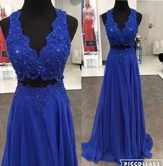 2 piece Prom Dresses,two Piece Prom Gown,Long Prom Dresses,Prom Dresses,New Style Prom Dress,Floor length Prom Gowns