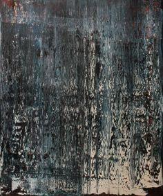 """Koen Lybaert; Oil 2014 Painting """"abstract N° 996"""""""